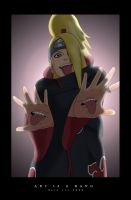 Deidara - Art is a BANG by Tetino
