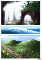 Landscape Studies 4 by kovah