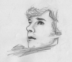 Sherlock Sketch. by wintercaptain