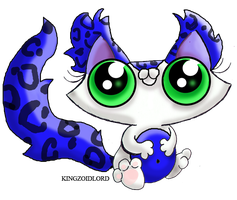 FREE FUNNY CAT KITTEN FLUFFY ADOPT BLUE by KingZoidLord