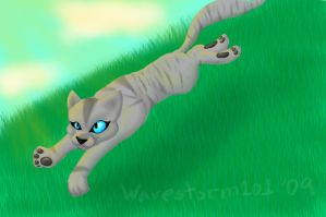 Silverpelt art trade by Wavestorm101