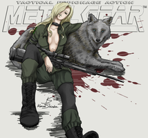 Sniper Wolf (Metal Gear Solid) by KanoeShirota