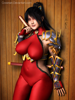 Taki The Demon Huntress by covenan