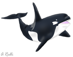 Dragoniade Orca Tf Commish 4/4 by DanteVergilLoverAR