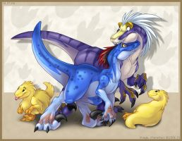 Raptor Pack by zillabean