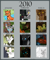 2010 Art Compilation by Yolly-anda