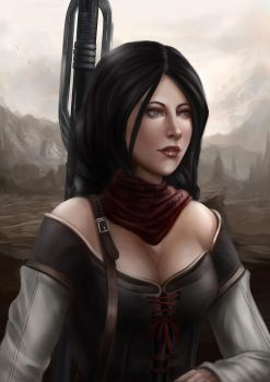 Bethany from Dragon Age 2 by Gengar1991