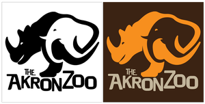Akron Zoo Logo by witnessGFX