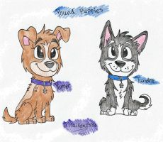 pepper and tundra by TheBestBadNewz