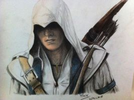Connor Kenway from AC 3 by Hybrid-Theory101