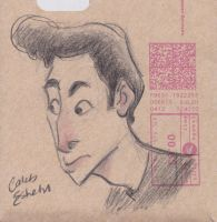 Envelope Man by Caleb-Eshetu