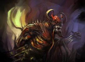 Shadow fiend by Koily