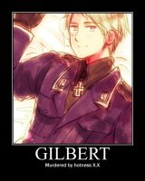 sexy gilbert by supernomnomcat