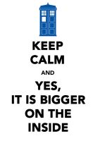 Keep Calm : Doctor Who by DayDreamingGal7