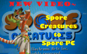 Spore Video-Spore Creatures to Spore PC by PukingRainbow