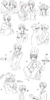 Latin hetalia sketches 2 by Fuko-chan