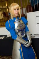 Saber, Anime Detour 2012 by thatbloodypirate