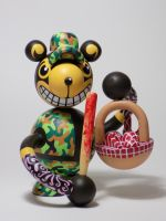 Grisly Bears - Picnic Thief Bears by RichardInkdruvWood