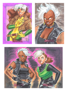 Women of Marvel 3 by Jadiekins