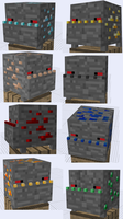 Minecraft Mob Ideas - Ore Trap by RedPanda7