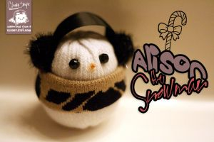 Alison the Snowman by cleody