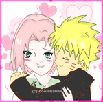 NaruSaku-Can I Hug You Sakura? by Queen-Caffeine