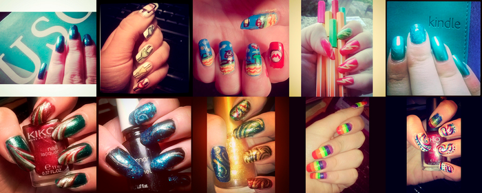 Nail art (part 5) by Rossally