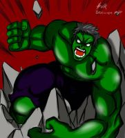 hulk!!! by officialMARKJAYSON