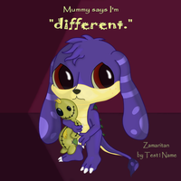 Mummy Says I'm Different by Officer-1BDI