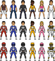 Mighty Morphin Power Rangers 2 by MicroManED