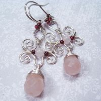 Passion and Innocence Earrings by Gailavira