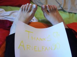 Thank You Arielfan90 by Whor4cle