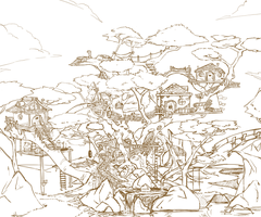 Bill's Tree House WIP by SheYuki