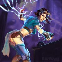 Age of Champions Lightning Alchemist by anotherdamian
