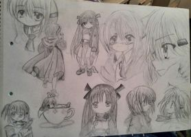 Trying to draw manga in 2009 by Alisssvic