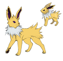 Realistic Jolteon Concept by SiscoCentral1915