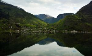 Sailing the fjords to Skjolden 56 by abelamario
