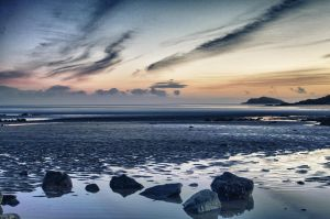 Solway Blues by derekbeattieimages