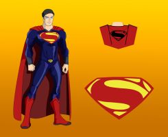 The DC Project: #6 Kal-El/Superman by huatist