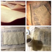 Coffee-stained paper by Picklemind