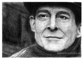 Sketch Card : HOLMES by blessyo4