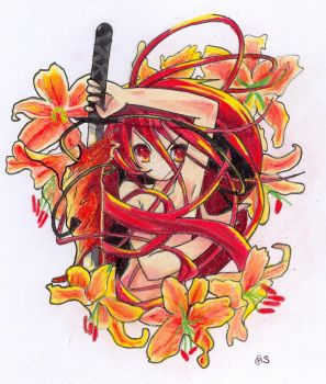Shakugan no Shana by seya88