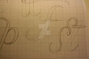 Typeface Sketches 4 by Weegraphicsman