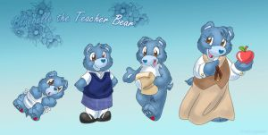 Teacher Bear II by ThisCrispyKat