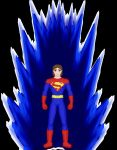 Superboy with self Manipulable Aura by brick1988