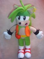 MANIC THE HEDGEHOG PLUSHIE 2 by Victim-RED