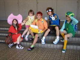 A digimon Group by Strawberry-Ashes