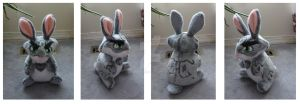 Bunnymund plushie - Start Believing Mate by CrowMaiden