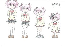 Madoka Age Regression (Request) by ruud123band