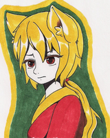 Gift:  Naomi  (In copic markers) by TsukiHina